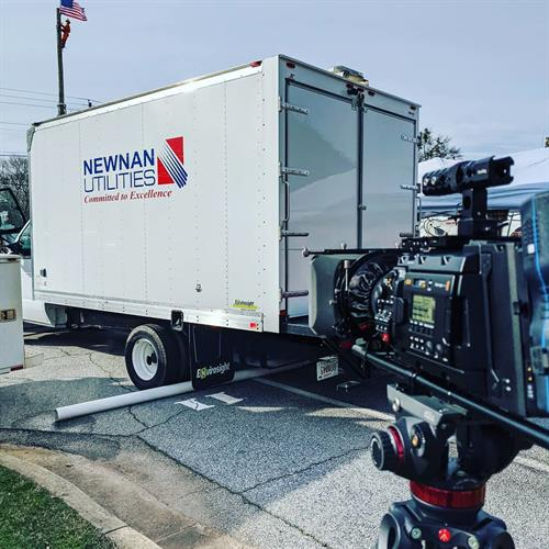 Always a pleasure to work with Newnan Utilities on their videos!