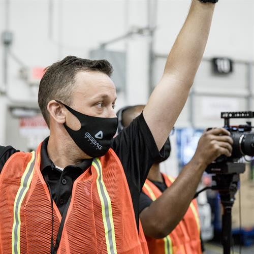Behind the Scenes work with Amazon at their Fulfillment Center, ATL7.