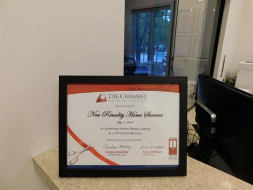 Proud Chamber of Commerce Member