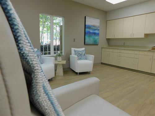 A lovey setting for patient care