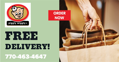 Free grocery delivery
