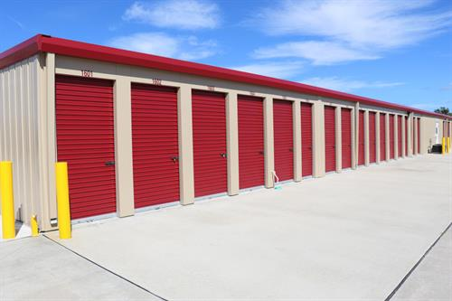 Self-storage unit at AAA Malabar Storage