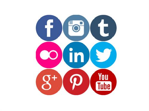 We can create your social media and Web  presence on all popular social platforms!