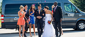 Ask About Wedding Services from Epic Mountain Express