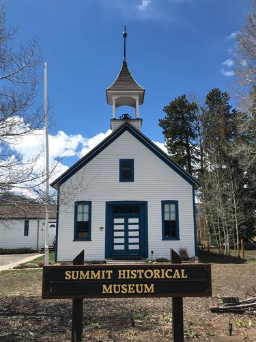 1883 Dillon Schoolhouse, home of the Summit Historical Society