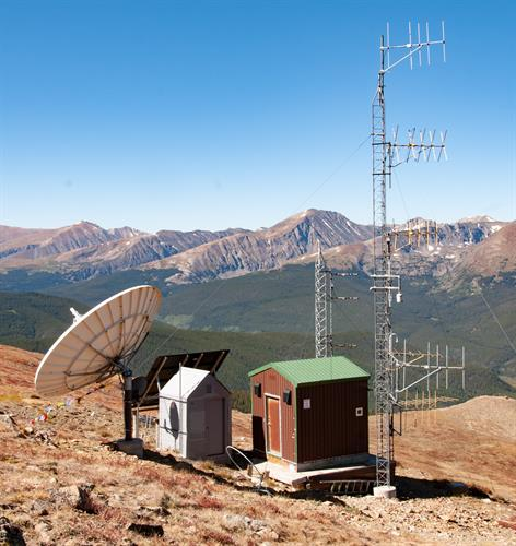 Electronics Site on Bald Mountain
