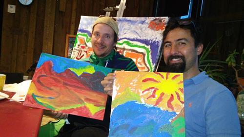 Breck Create Art class