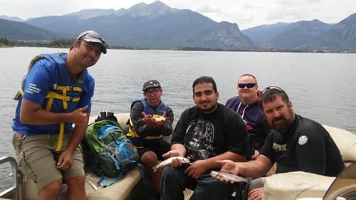 Fishing with Alpine Adventures on Lake Dillon