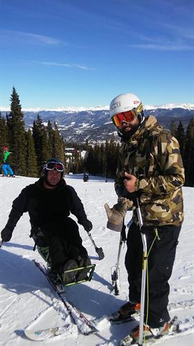 Skiing Breck!