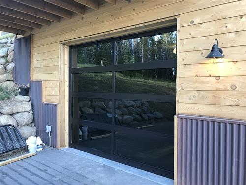 Full-view aluminum with bronze powder coat and window tint, Breckenridge