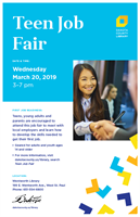 Teen Job Fair to be hosted at Wentworth Library