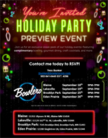 You're Invited: Bowlero Holiday Party Preview Event!