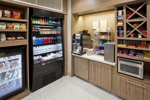 24-hour pantry with Espresso Machine
