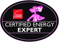 We are a Certified Energy Expert!