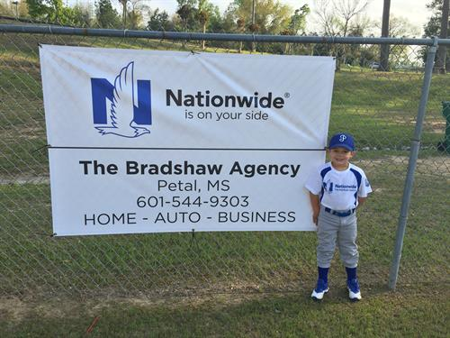 The Brashaw Agency is proud to be a part of the PSA t-ball league 2018.