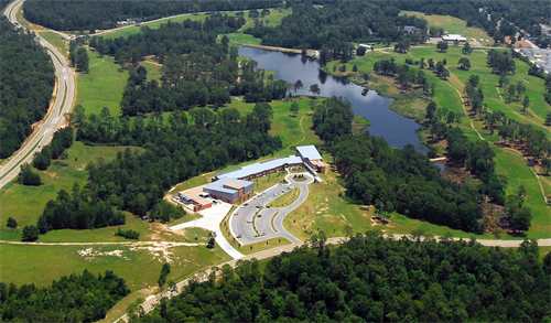 Aerial of The Accelerator, home to MPI and Technoogy-based Companies
