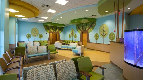 Interior of Pediatric Clinic