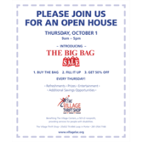 The Village Thrift Shop - Open House