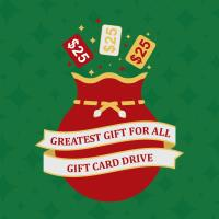GEMCC's Greatest Gift for All Gift Card Drive