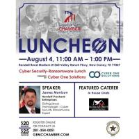 GEMCC's Cyber Security - Ransomware Luncheon Presented By Cyber One Solutions