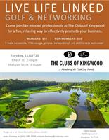 Golf & Networking Live Life Linked at The Clubs of Kingwood