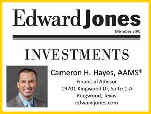 Edward Jones Cameron H Hayes AAMS