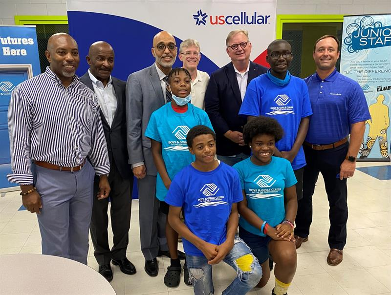 UScellular Donates $75,095 in Wireless Hot Spots and Service to Boys & Girls Clubs of the Tar River Region Donation Provides Internet Connectivity for Local Club Members.
