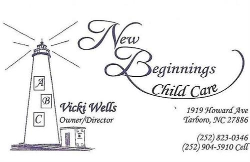 New Beginnings Child Care Center