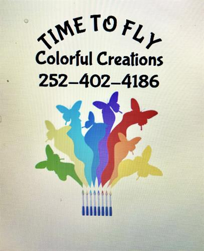 Time to Fly Colorful Creations