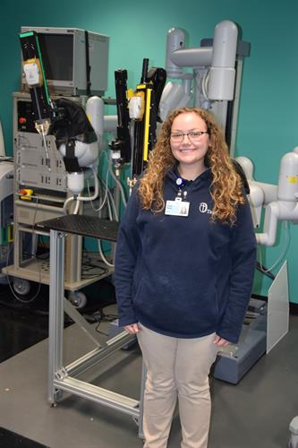 Trinity Intern at the Biorobotics Department of The Cleveland Clinic