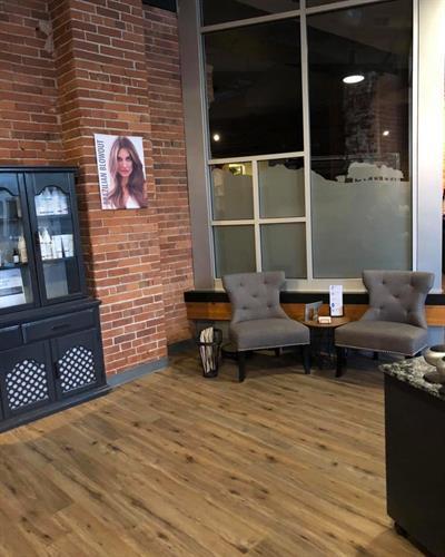 Waiting Area on Hair Floor