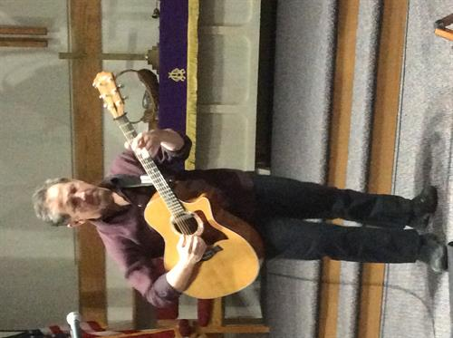 John Floridis will perform on November 30 at Our Savior's Lutheran Church at 7:00. Free will offering.