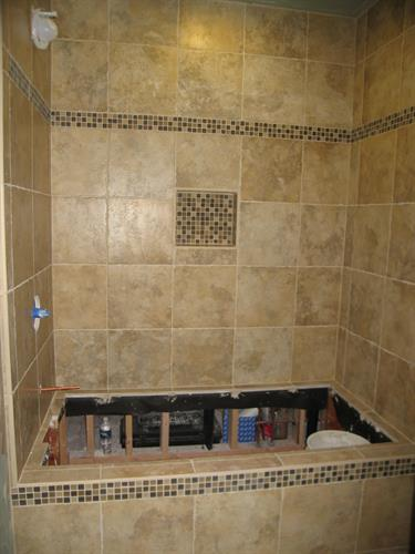 Murphy Job Guest Bath Tiled
