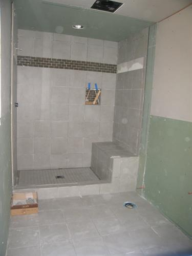 Murphy Job Master Bath Framed & Prepped 4 Tile