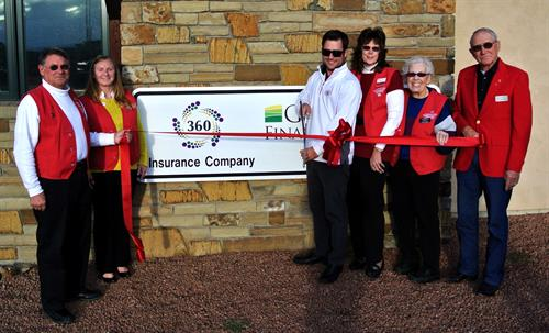 Ribbon Cutting for 360 Insurance