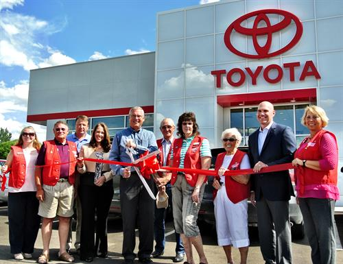 Ribbon Cutting for Turner Toyota