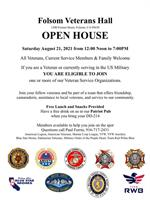 OPEN HOUSE, Folsom Veterans Hall