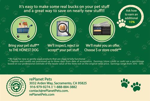 Pet Store- back postcard