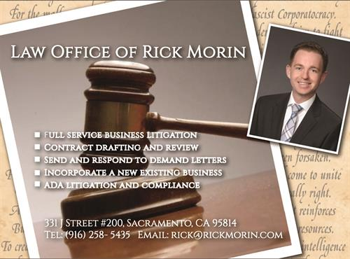 Postcard for Local Lawyer