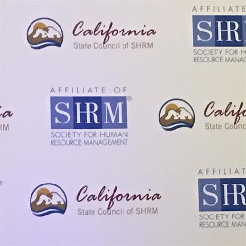 Cal SHRM Conference 2016