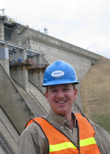 Engineer Curt Taras, Folsom Dam