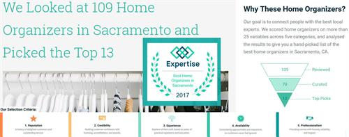 I am humbled to be voted top 13 Organizers in Sacramento