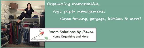 Room Solutions By Paula services banner