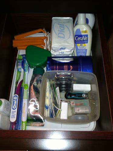 Bathroom drawer After Room Solutions by Paula
