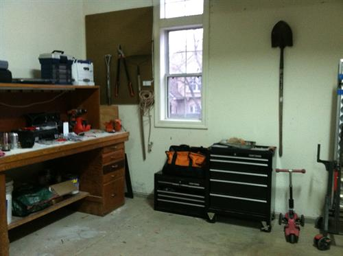 Garage tool area After Room Solutions by Paula