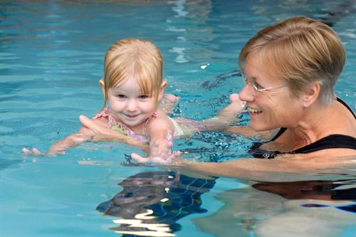 Infant Swimming Lessons - El Dorado Hills