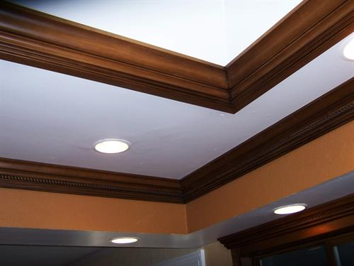 Crown Molding Work