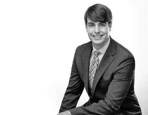 Black and white business portraits
