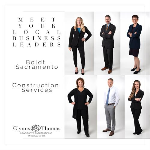 Sacramento Construction Firm Headshots