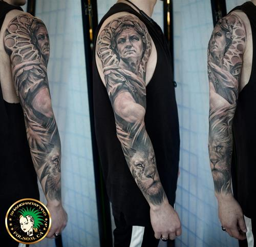 Caesar full sleeve by Ms. Ting